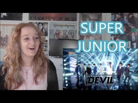 Super Junior - Devil - Show Music Core [Comeback Stage] - Reaction