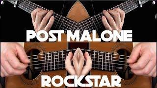 Post Malone - rockstar ft. 21 Savage - Fingerstyle Guitar