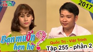 Xúc động với chuyện hẹn hò của chàng trai - cô gái lỡ một lần đò | Quốc Trị - Việt Trinh | BMHH 255