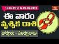 Scorpio Weekly Horoscope By Dr Sankaramanchi Ramakrishna Sastry | 16 June 2019 - 22 June 2019