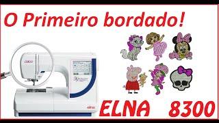 Elna 8300 embroidery Machine manual