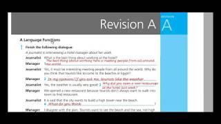 اجابات Work Book Revision A للثاني الثانوي