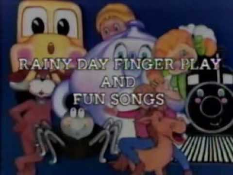 see and sing rainy day finger play and fun songs youtube. Black Bedroom Furniture Sets. Home Design Ideas
