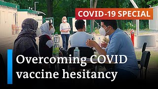 COVID-19 vaccine hesitancy among disadvantaged groups | COVID-19 Special
