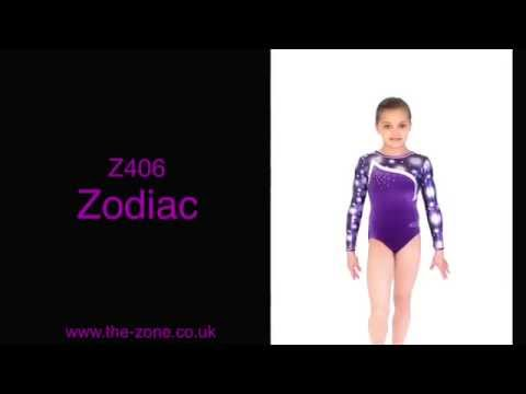 Zodiac Long Sleeve Gymnastics Leotard
