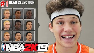 NBA 2K19 My Career Gameplay Playthrough - Creation of JessertheLazer - Part 1