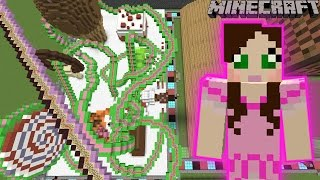 Minecraft: CANDY ROLLER COASTER - FUN TIME PARK [6]
