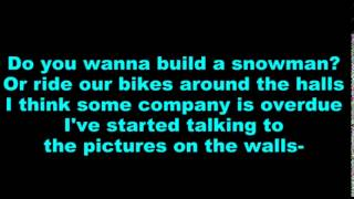 Do You Want to Build a Snowman -Music and Lyrics 2014 Disney's Circle of Stars
