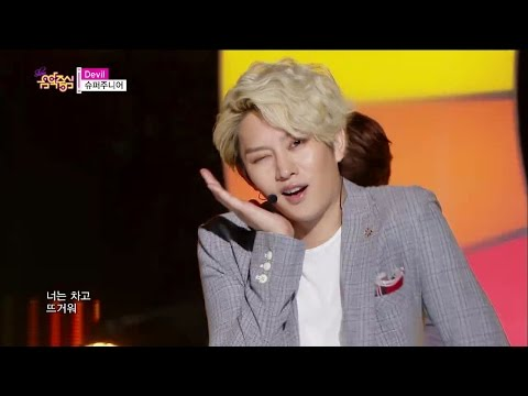 【TVPP】 Super Junior - Devil, 슈퍼주니어 - 데빌 @ Show! Music core