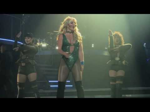 Britney Spears Piece Of Me 3/22/17 Front Row Part 1
