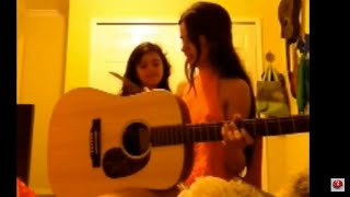 Camila Cabello Singing with her sister
