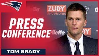 "Tom Brady: ""Our whole season's ahead of us."""