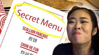 There's a SECRET MENU at EVERY American Chinese Restaurant - How To Get REAL Chinese Food