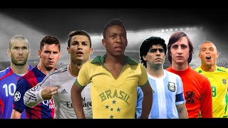 Top 20 Best Football Players of All Time • **OUTDATED**