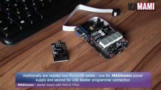 [Altera MAX10 FPGA] How to use USB Blaster compatible programmer