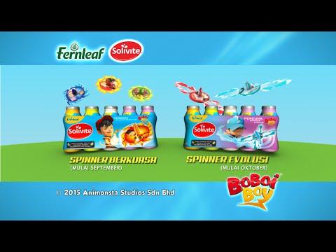 BoBoiBoy Promo: Spinner Berkuasa Fernleaf Solivite