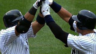 Yankees make history with three grand slams