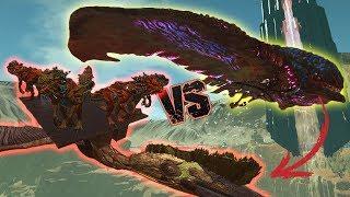 DESERT TITAN vs 5 VELONASAUR - ARK OFFICIEL CONQUEST