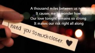Wanna Grow Old With You - Westlife [Lyrics] [I Miss You]