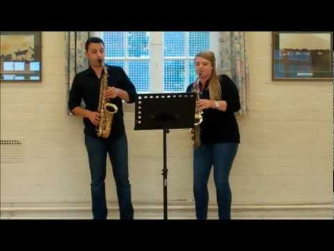 Sax Duet - four easy duets by Telemann