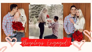 BRYNLEY'S ENGAGED!!! *CUTEST PROPOSAL EVER*