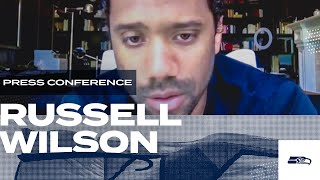 Russell Wilson 2020 Offseason Press Conference