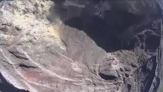 Kondisi Kawah Gunung Agung