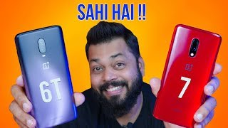 OnePlus 7 vs OnePlus 6T ⚡ How BIG is This Upgrade??