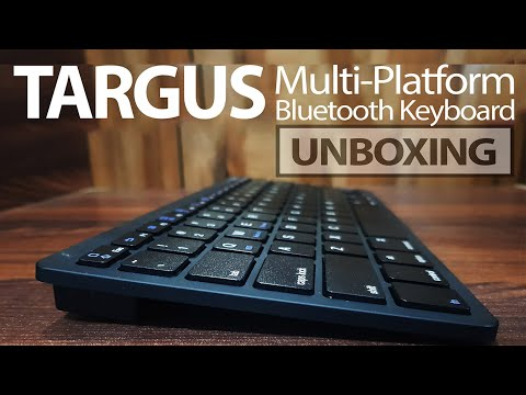 video Targus KB55 AKB55TT Bluetooth Multi-Platform Keyboard (Black)
