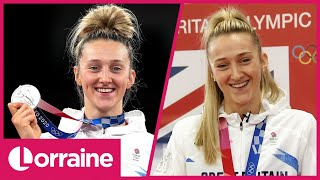 Lauren Williams Reacts To Her Olympic Silver Medal Win & Shares Incredible Journey To Tokyo | LK