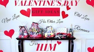 DIY VALENTINE'S DAY GIFT IDEAS FOR HIM | BOYFRIEND GIFT *GIVEAWAY*