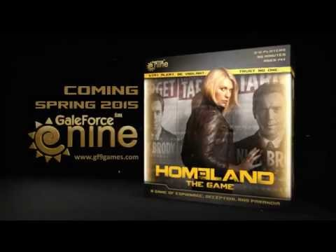 GaleForce 9 Homeland : The Game