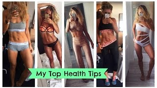 My Top Fitness and Health Tips! Easy Healthy Lifestyle Changes   EmTalks