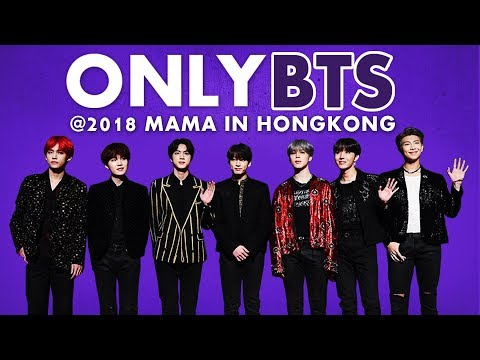 BTS at 2018 MAMA in HONG KONG | All Moments