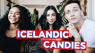 TASTING ICELANDIC CANDIES (ft. Jeanine Amapola) | Collabmas Day 4