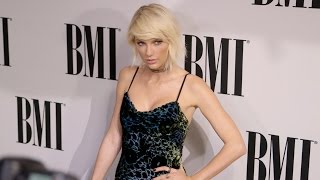 Taylor Swift Arrives at the BMI Pop Awards