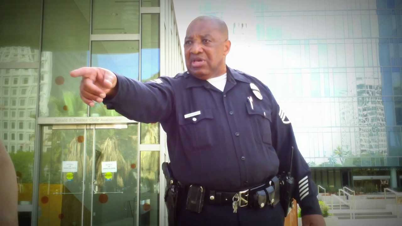 LAPD accused of brutality