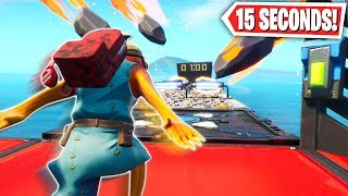 You have 15 SECONDS to BEAT this Deathrun! (Fortnite Creative Mode)