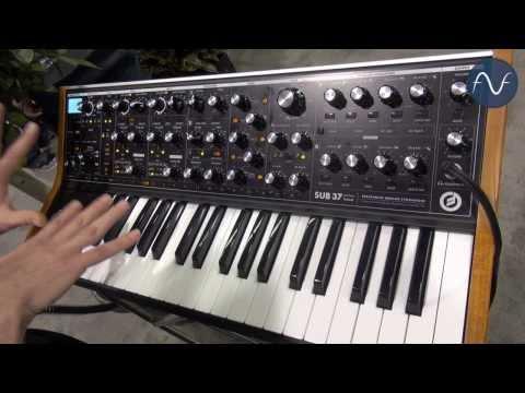 [NAMM] Moog Sub 37