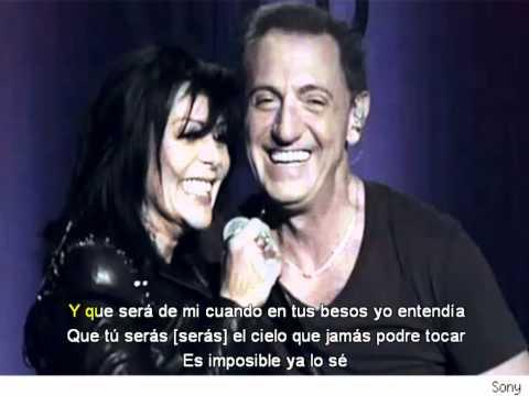 Franco de Vita & Alejandra Guzmán - Tan Solo Tu - (Letra)