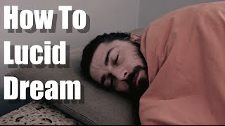 HOW TO LUCID DREAM: THE EASIEST & BEST WAY