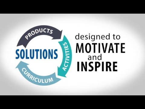 Products to Solutions Designed to Motivate and Inspire