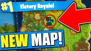 NEW CITIES in FORTNITE! (New Map in Battle Royale!)
