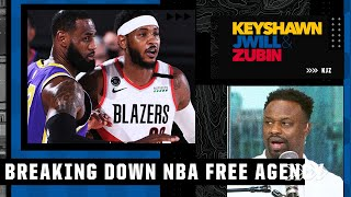 Bart Scott is not a fan of Carmelo 'ring-chasing' and joining LeBron and the Lakers   KJZ