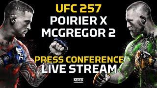 UFC 257: Poirier vs. McGregor 2 Pre-Fight Press Conference LIVE Stream - MMA Fighting