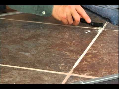 how to clean your tile grout youtube. Black Bedroom Furniture Sets. Home Design Ideas