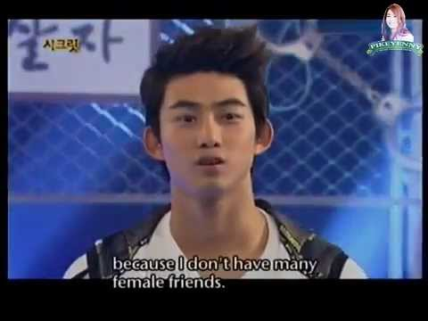 [HQ] [ENG] Z:EA Kwanghee Past Picture and 2PM Taecyeon's Love Life