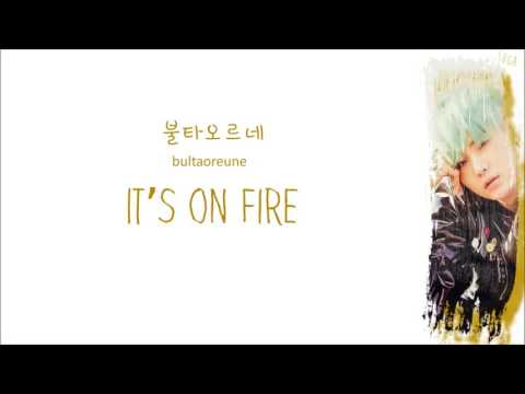 Bangtan Boys - Fire (Color Coded Lyrics: Hangul, Romaji, English)