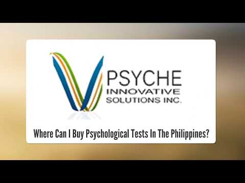 Where Can I Buy Psychological Tests In The Philippines