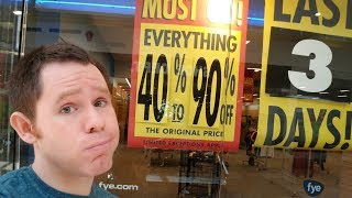 Video Store Confessionals: The Closing of FYE